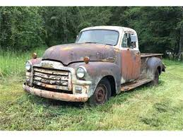 1954 GMC Truck For Sale | ClassicCars.com | CC-968187 The Classic 1954 Chevy Truck The Picture Speaks For It Self Chevrolet Advance Design Wikipedia 10 Vintage Pickups Under 12000 Drive Tci Eeering 51959 Suspension 4link Leaf Rare 5window 1953 Gmc Vintage Truck Sale Sale Classiccarscom Cc968187 Trucks Of 40s Customer Cars And Pickup Classics On Autotrader 1949 Chevy Related Pictures Pick Up Custom 78796 Mcg