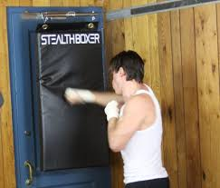Punching Bag Ceiling Mount by First Door Mounted Zero Footprint Punching Bag Brings The