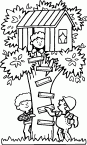 Playing In A Treehouse