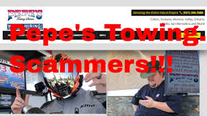 Scammers! Pepe's Towing Company - Ontario CA Trying To Make A Quick ...