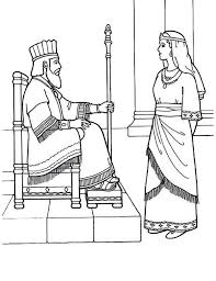 Queen Esther Became Kings Lovely Coloring Page