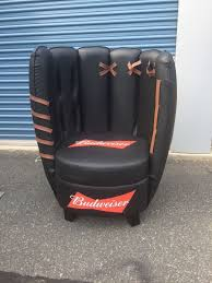 Rare And Brand New Budweiser Baseball Glove Chair Mancave ... Free Images Structure Seball Row Bench Game Chair Dxracer Gaming Chair Cover All Star Game Rocking Baseball Econstor Kids Swivel Ottoman Glove Ball Faux Leather Recliner Teens Room Toy Sports Inflatable 1 Set Toys Games Mulfunction Black Adjustable Hydraulic Home Office Desk Student Computer Buy Chairhydraulic Kane X Professional Nemesis Neon Blue Classic Helmet 3d Model Galpublicgnublender 10 Boston Red Sox And Fenway Park Facts You Never Knew About Ergonomic Racing Style High Back Seat Massage