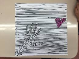 Tonyas Treats For Teachers Hand And Heart A Super Easy 3D Art Project