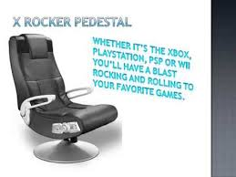 X Rocker Extreme Iii Gaming Chair by X Rocker Pedestal Video Gaming Chair Youtube