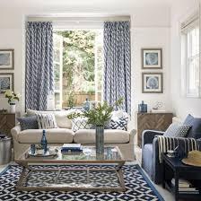 plain decoration blue living room furniture plush design ideas