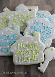 Home SWEET Cute Little House Cookies A Great Fun And Totally Summer PartiesDinner