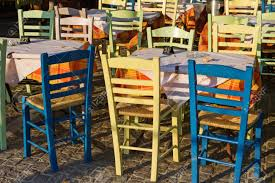 Empty Tavern Tables And Chairs At Plaka District, Athens, Greece. Handmade Tavern Tablebannister Back Chairs By Mc Guire 61 Off Linon Home Decor Marble Table And Stools Tables Athens Greece Greek Tavern Empty Tables Chairs At Dorel Living Devyn 3piece Faux Pub Ding Set Black 57 Kitchen With Brown Leather Outstanding High Top Chair Height Children For Hire Auction Of Estate Antiques Brassex Walmart Canada John Lewis Cream Traditional Stock Image Gyro Outdoor Taverna Restaurant Table A