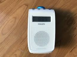 philips ae2330 tragbares badezimmer radio display duschradio