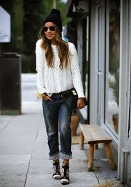 32 chic ways to wear your knitted sweater fashiongum com