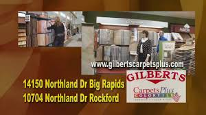 gilberts carpets plus color tile youtube