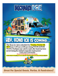 100 Ice Cream Truck Prices Tuesday Surprise The Kona Shaved And Will Be On