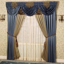 Gold And White Sheer Curtains by Gold Sheer Swag Curtains