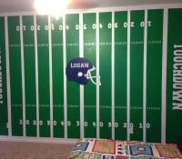 Dallas Cowboys Home Decor by Nfl Bedroom Decor Football Room Field Chalkboards Wall Stickers