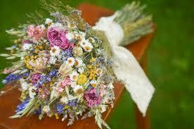Summer Wildflowers Bridal Bouquet Peony Wildflower Bride Spring