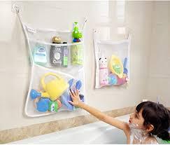 bad aufbewahrung bad spielzeug organizer set 2 stück badezimmer kinder badewanne netz taschen mit 4 x saughaken 4 x klebehaken starke qualität