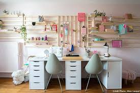 le bureau design bureau rangement une structure en bois pour tout ranger dans le