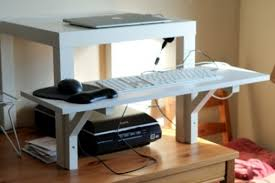 Diy Standing Desk Riser by Desk Diy Standing Cheap Stand Up Office Pertaining To Attractive