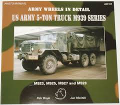 100 Army 5 Ton Truck Wheels In Detail US M939 Series By Petr