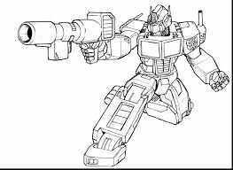 Coloriage Transformers Optimus Prime Marque My Little Pony Coloriage