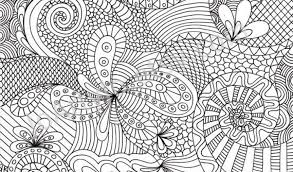 Abstract Coloring Page Related