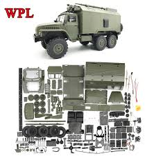100 Rc Truck Kit WPL DIY RC B36 Ural 116 24G 6WD Remote Control Military