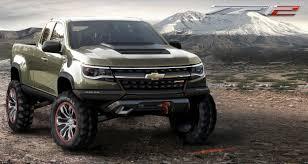 100 2015 Concept Trucks Chevrolet Colorado ZR2 Truck Rocks 2014 LA Auto Show