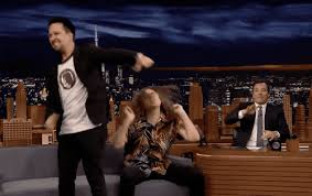 Lin Manuel Miranda Weird Al and Jimmy weird tonight sync show polka party miranda mauel