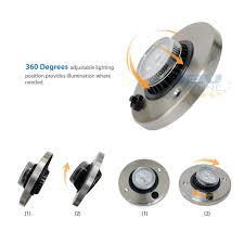 12v led directional eyeball cabinet light rv caravan trailer cargo
