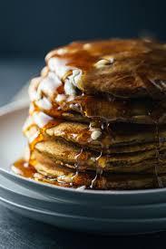 Easy Vegan Pumpkin Pancake Recipe by Simple Cinnamon Pumpkin Pancakes Recipe Pinch Of Yum