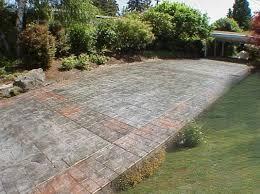 concrete patio appleton wi sted concrete patio mchugh s decorative concrete patios