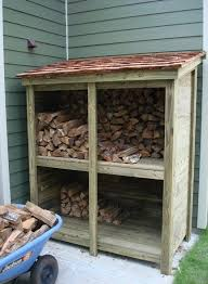 log store heavy duty bespoke timber log store free delivery