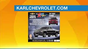 100 Truck Month Karl Chevrolet Mach