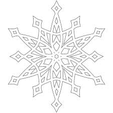 Snowflakes Winter Coloring Pages To Print Best