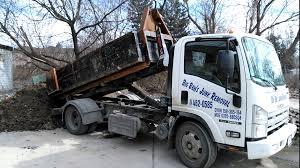 Isuzu Mini Roll-off Truck Dumping 5 Yards Of Dirt - Big Ben's Junk ...