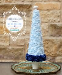 Christmas Tree Shop Danbury Ct by Cuddle Fabric Christmas Cone Tree Diy Fairfield World Blog
