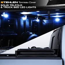 Amazon.com: Stehlen 733469491538 Solid Tri-Fold Tonneau Cover With ... Truck Bed Lighting Kit 8 Modules Free Installation Accsories Cheap System Find Opt7 Aura 8pc Led Sound Activated Multi Lumen Trbpodblk 8pod Lights Ford F150 Where To Buy 12v White Light Strips For Cars Led Light Deals On Line At Aura Pod Multicolor With Remotes 042014 Rear Tailgate Emblem 2 Tow Hitch Cover White For Chevy Dodge Gmc Ledglow Installation Video Youtube 8pcs Rock Under Body Rgb Control