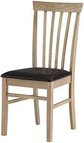 mood möbel küche esszimmer stuhl eiche natur finish rahmen aus massivem holz braun sitz aus kunstleder tisch erhältlich bis match gebaut