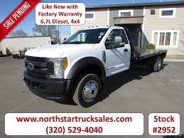 100 Used Commercial Truck Sales 2017 Ford F450 4x4 67 Flat Bed St Cloud MN NorthStar