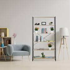 details zu standregal regal bücherregal küchenregal industrial wohnzimmerregal 180 cm hoch