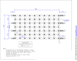 Work Truck Tailgate Net 95 X 42.5