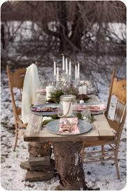 Rustic Winter Wonderland Outdoor Party Via KARAS PARTY IDEAS KarasPartyIdeas Cake Printables