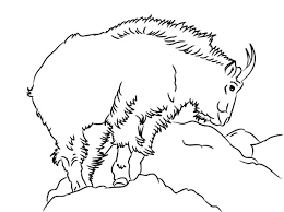 Band Leader Mountain Goat Coloring Pages