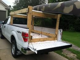 100 Pickup Truck Rack Howdy Ya Dewit Easy Homemade Canoe Kayak Ladder And Lumber