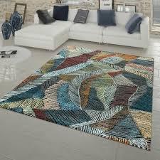 wohnzimmer teppich kurzflor mit kreide design