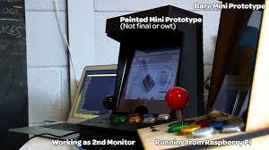 picade arcade cabinet kit runs on raspberry pi microcomputer tested