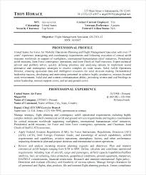 Federal Government Resume Template Objectives Examples Free Samples Format F