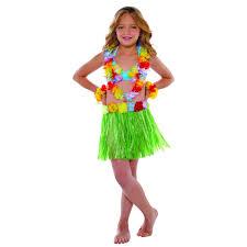 Hawaiian Costumes Toddler 2018 Children Folk Dance Dress