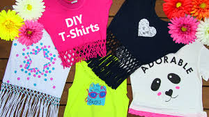DIY Clothes DIY 5 T Shirt Crafts T Shirt Cutting Ideas and