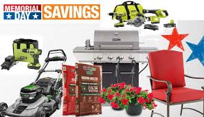Home Depot Memorial Sale Deals on Tools Paint Lawn Mowers and