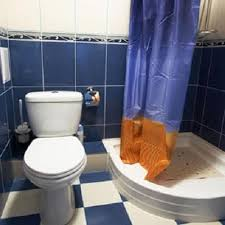 Clogged Toilet Drain Home Remedy by How To Fix A Clogged Toilet With Blue White Tile Http